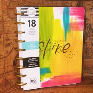"The Happy Planner ""Year to Shine"" Classic 18 Month"